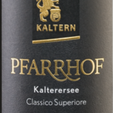 Kellerei Kaltern, Pfarrhof Kalterersee Classico Superiore Italian Red Wine