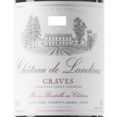 Chateau de Landiras Graves Red French Bordeaux Wine 750 mL