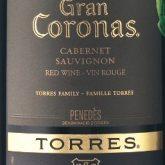 Torres Gran Coronas Red Spanish Wine 750 mL