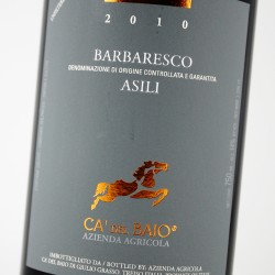 Ca' del Baio Barbaresco Asili 2013 Italian Piedmontese Red Wine 750mL