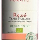 Feudo di Santa Tresa Purato Rose Terre Siciliane Certified Organic Italian White Wine 750 mL