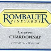 Rombauer Carneros Chardonnay 2015 California White Wine 750mL
