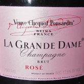 Veuve Clicquot La Grande Dame Rose 2006 French Champagne Sparkling Wine 750 mL