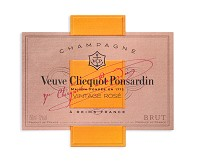Veuve Clicquot Brut Champagne Rose Vintage Reserve 2008 French Pink Sparkling Wine 750 mL