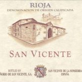 Senorio de San Vicente Rioja 2012 Red Spanish Wine 750 mL