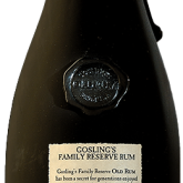 Goslings Family Reserve Old Rum 80 Proof Bermuda Rum 750 mL