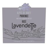 Lavendette Rose Alpes de Haute Provence 2016 French Rose Wine 750 mL