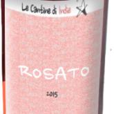 La Cantine di Indie Rosato Italian Dry Pink Wine 750 mL
