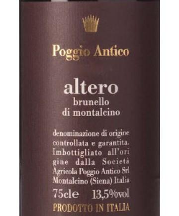 Poggio Antico Brunello di Montalcino Altero 2011 Italian Red  Wine 750 mL