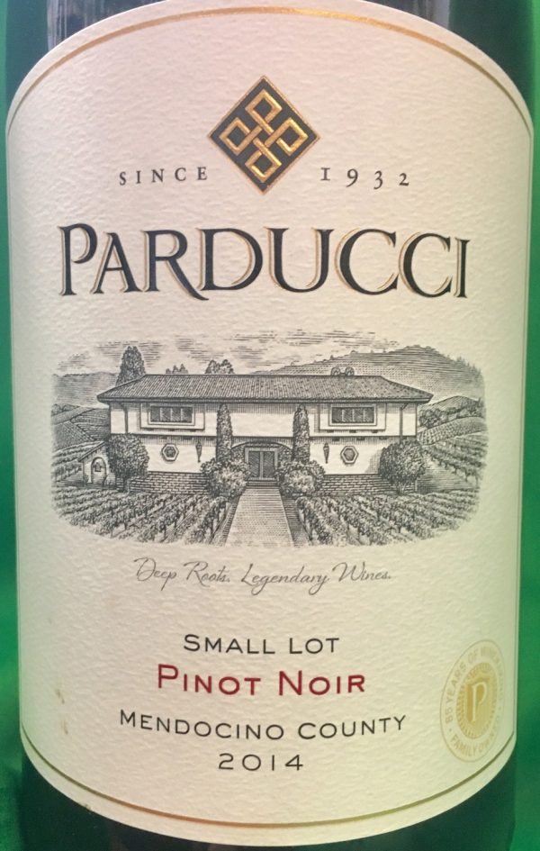 Parducci Small Lot Blend Pinot Noir California Red California Wine 750 mL