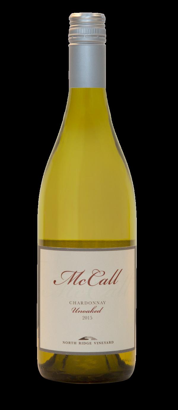 McCall Unoaked Chardonnay Long Island White Wine 750 mL