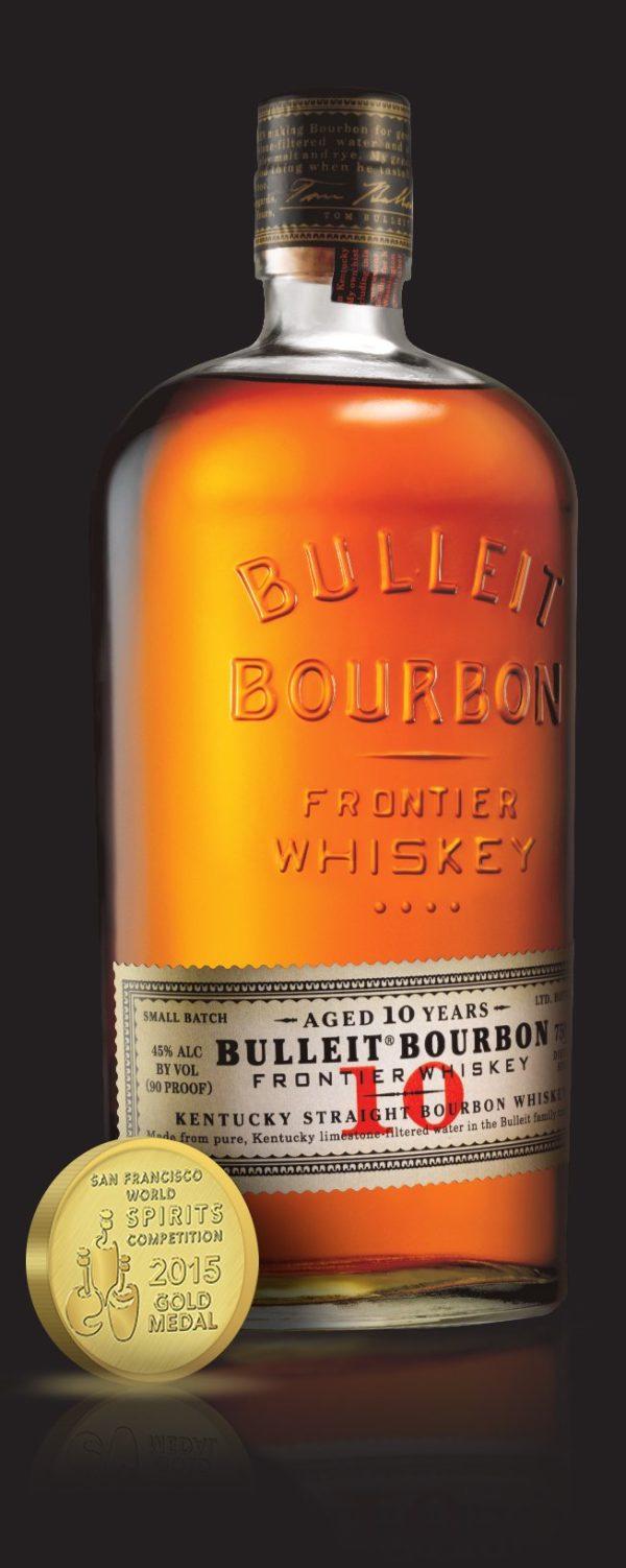 Bulleit 10 Year old Bourbon Whiskey 750 mL