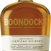 Boondocks 11 year American Whiskey 95 proof 750 mL