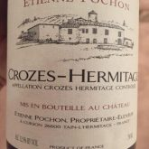 Etienne Pochon Crozes-Hermitage 2013 Red French Rhone Wine 750 mL