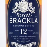Royal Brackla 12 Year Old Single Malt Highland Scotch Whisky 750 mL