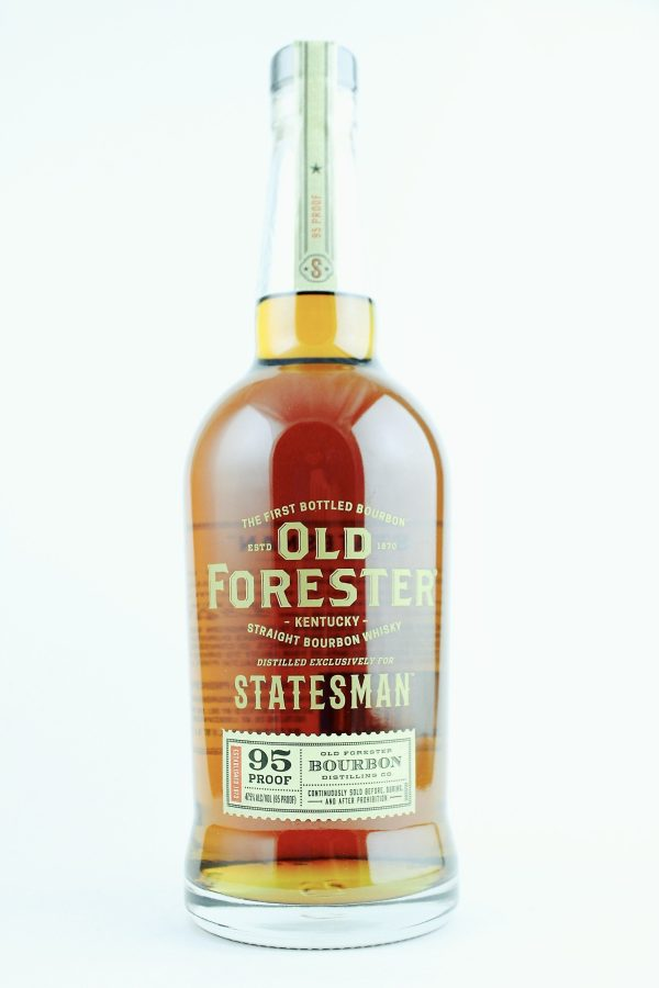Old Forester Statesman Kentucky Straight Bourbon Whiskey 750 mL