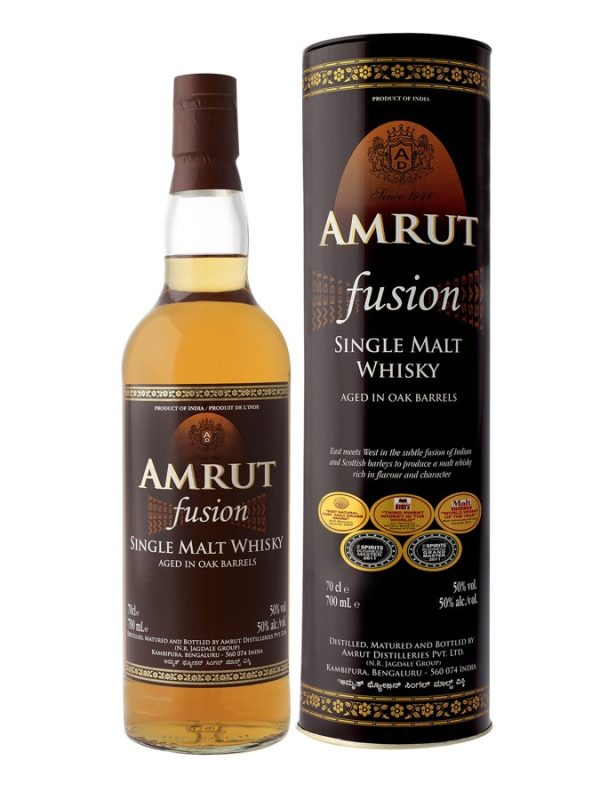 Amrut Fusion Indian Single Malt Whisky 750 mL