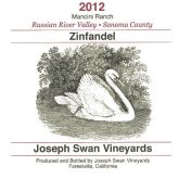 Joseph Swan Zinfandel Red Russian River Valley California Red Wine 750 mL