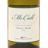 McCall Sauvignon Blanc Cuvee Nicola Island White Wine 750 mL
