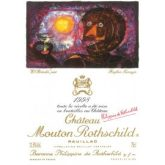 Chateau Mouton-Rothschild Pauillac 1998 Red Bordeaux Wine 750 mL