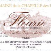 Domaine de la Chapelle des Bois Fleurie 2015 French Red Beaujolais Wine 750mL