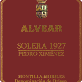 Alvear Pedro Ximenez Solera 1927 375ml