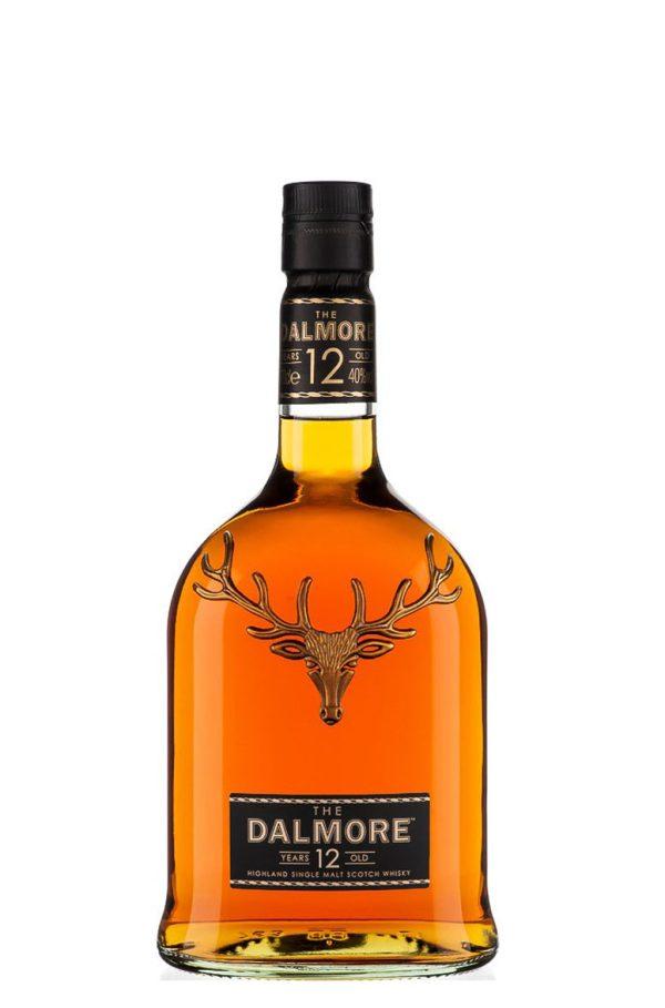 Dalmore 12 Year Old 80 Proof Single Malt Highland Scotch Whisky