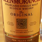 Glenmorangie 10 Year Old Original 86 Proof Single Malt Highland Scotch Whisky