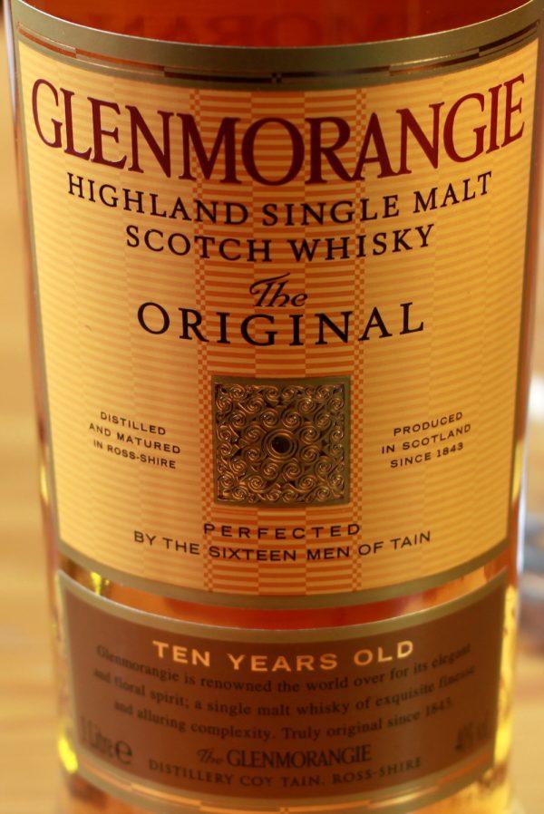 Glenmorangie 10 Year Old Original 86 Proof Single Malt Highland Scotch Whisky