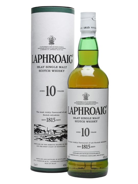 Laphroaig 10 Year Old Single Malt Scotch