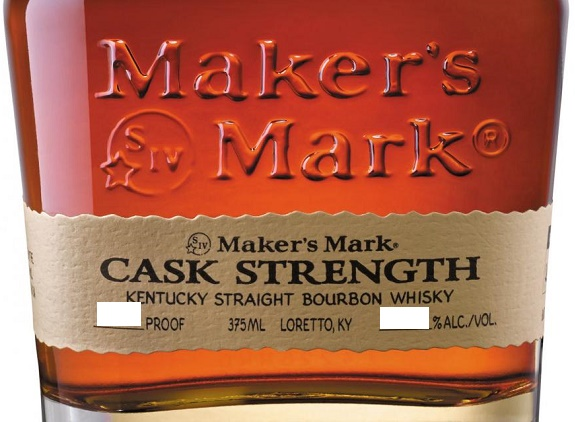 Maker's Mark Cask Strength Kentucky Straight Bourbon Whiskey 750 mL