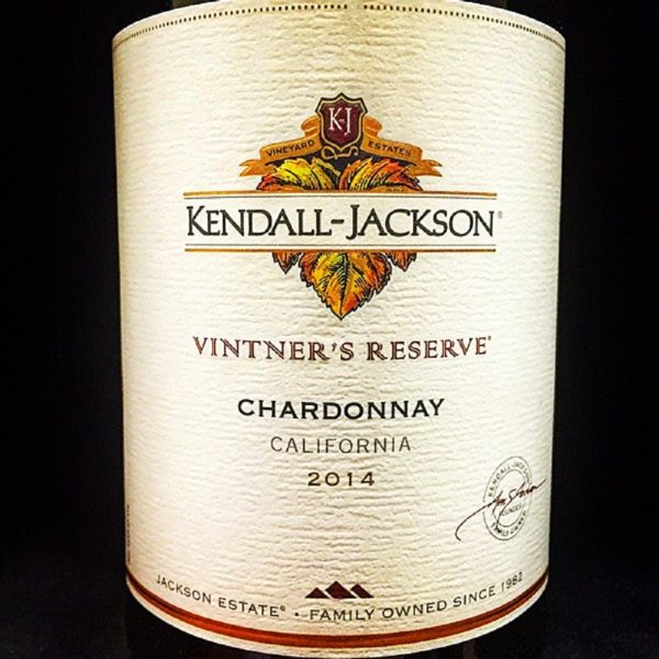 Kendall-Jackson Chardonnay Vintners Reserve White California Wine