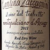 Zaccagnini Montepulciano d'Abruzzo Tralcetto Riserva Italian Red Wine 750mL