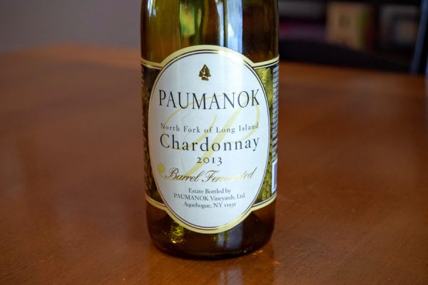 Paumanok Chardonnay Barrel Fermented 2013 Long Island White Wine