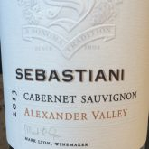 Sebastiani Alexander Valley Cabernet Sauvignon Red California Wine