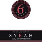 Michael-David 6th Sense Lodi Syrah 2013 California Red Wine 750 mL