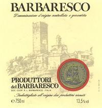 Produttori del Barbaresco Barbaresco 2013 Italian Red Wine 750 mL