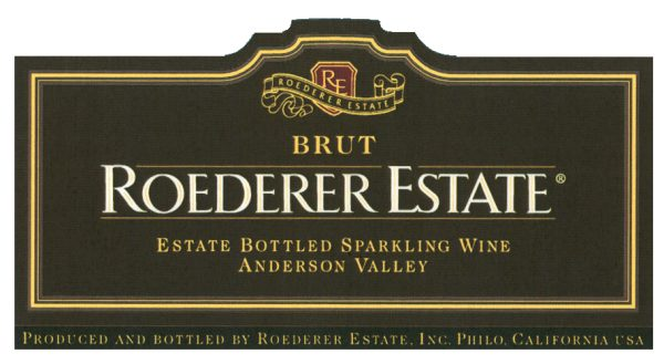 Roederer Estate Brut Anderson Valley NV California Sparkling Wine