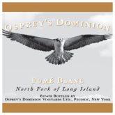 Osprey's Dominion Fume Blanc Long Island White Wine 750 mL