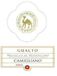 """Camigliano Brunello Riserva """"Gualto"""" 2010 Italian Tuscan Red Wine"""