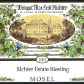 Max Ferdinand von Richter Riesling Estate 2014 German White Wine
