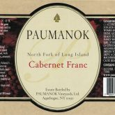 Paumanok Cabernet Franc 2014 Red Long Island Wine 750 mL