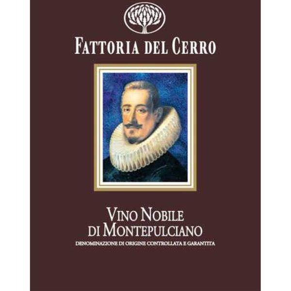 Fattoria del Cerro Vino Nobile di Montepulciano 2012 Italian Red Wine 750 mL