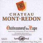 Chateau Mont-Redon Chateauneuf du Pape 2013 Red Rhone Wine 750mL