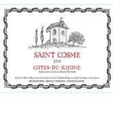 Chateau de Saint Cosme Cotes du Rhone Red Rhone Wine 750 mL