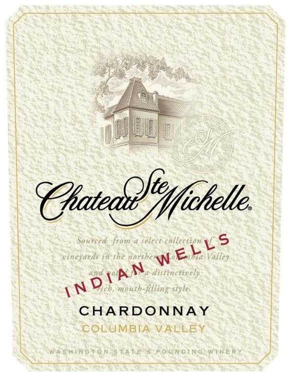 Chateau Ste. Michelle Chardonnay Indian Wells 2011 Washington White Wine