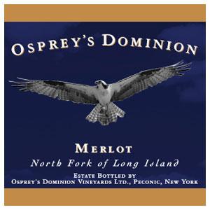 Osprey's Dominion Merlot Red Long Island Wine 750 mL