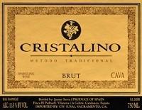 Cristalino Brut Rose NV Spanish Sparkling Wine