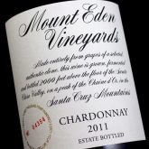 Mount Eden Chardonnay Estate Santa Cruz Mountains 2007