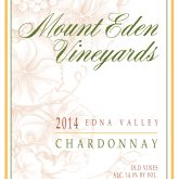 Mount Eden Chardonnay Edna Valley Wolff Vineyard 2014 White California Wine 750 mL